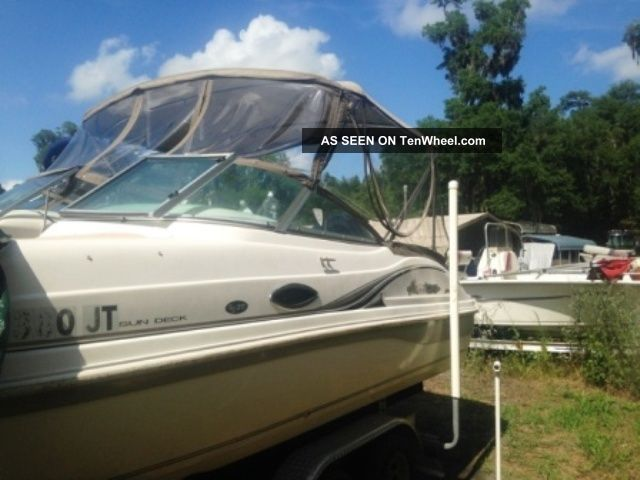 2003 Godfrey Hurricane Sd217 Pontoon / Deck Boats photo
