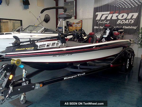 2012 Ranger Commanche Z 520 Vx Bass Fishing Boats photo