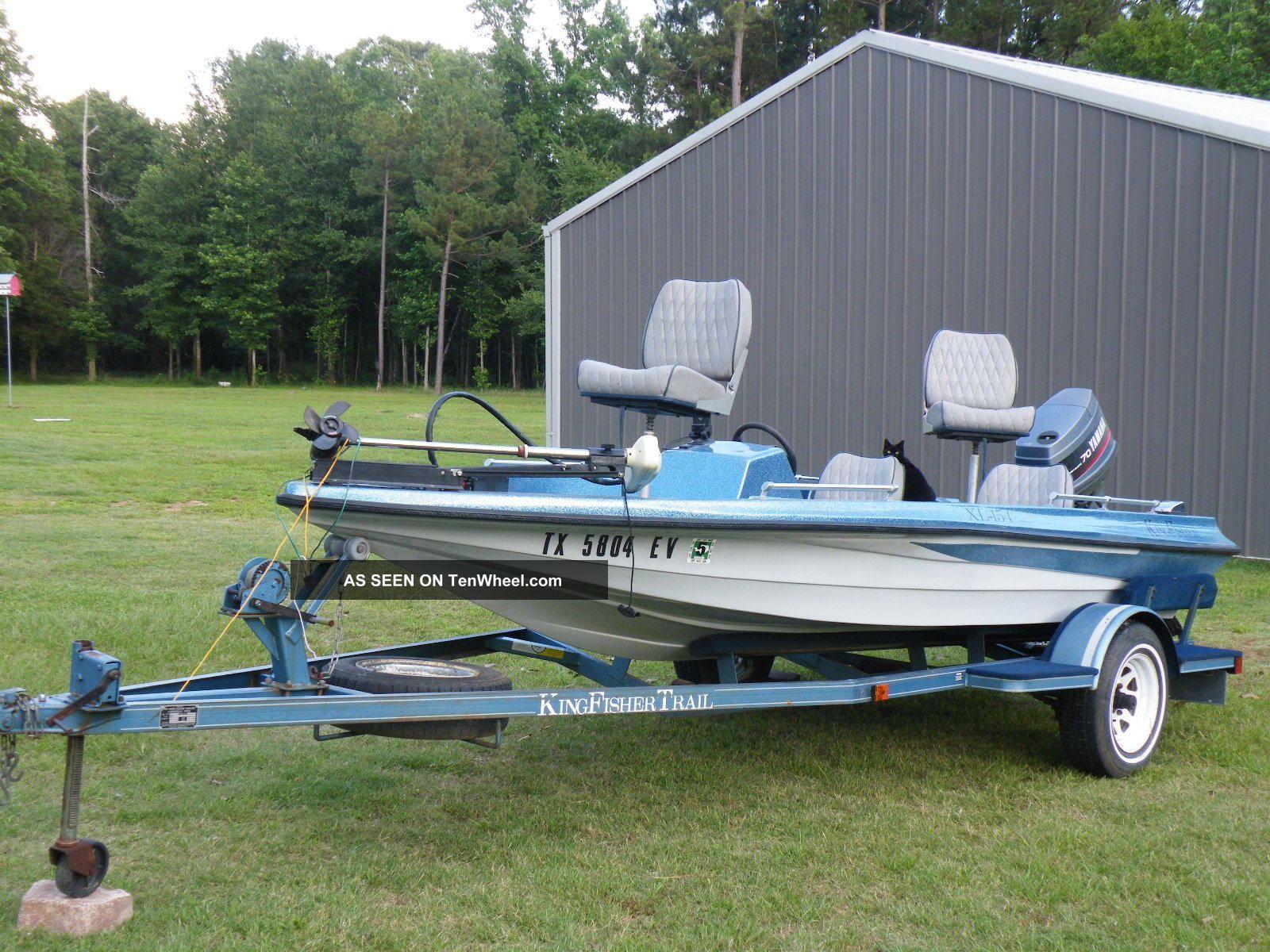 1991 Kingfisher Xl - 154 Bass Fishing Boats photo