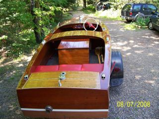 1947 Chris - Craft Special Runabout photo