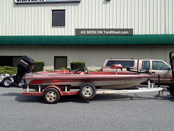 1985 Ranger 371 Bass Fishing Boats photo