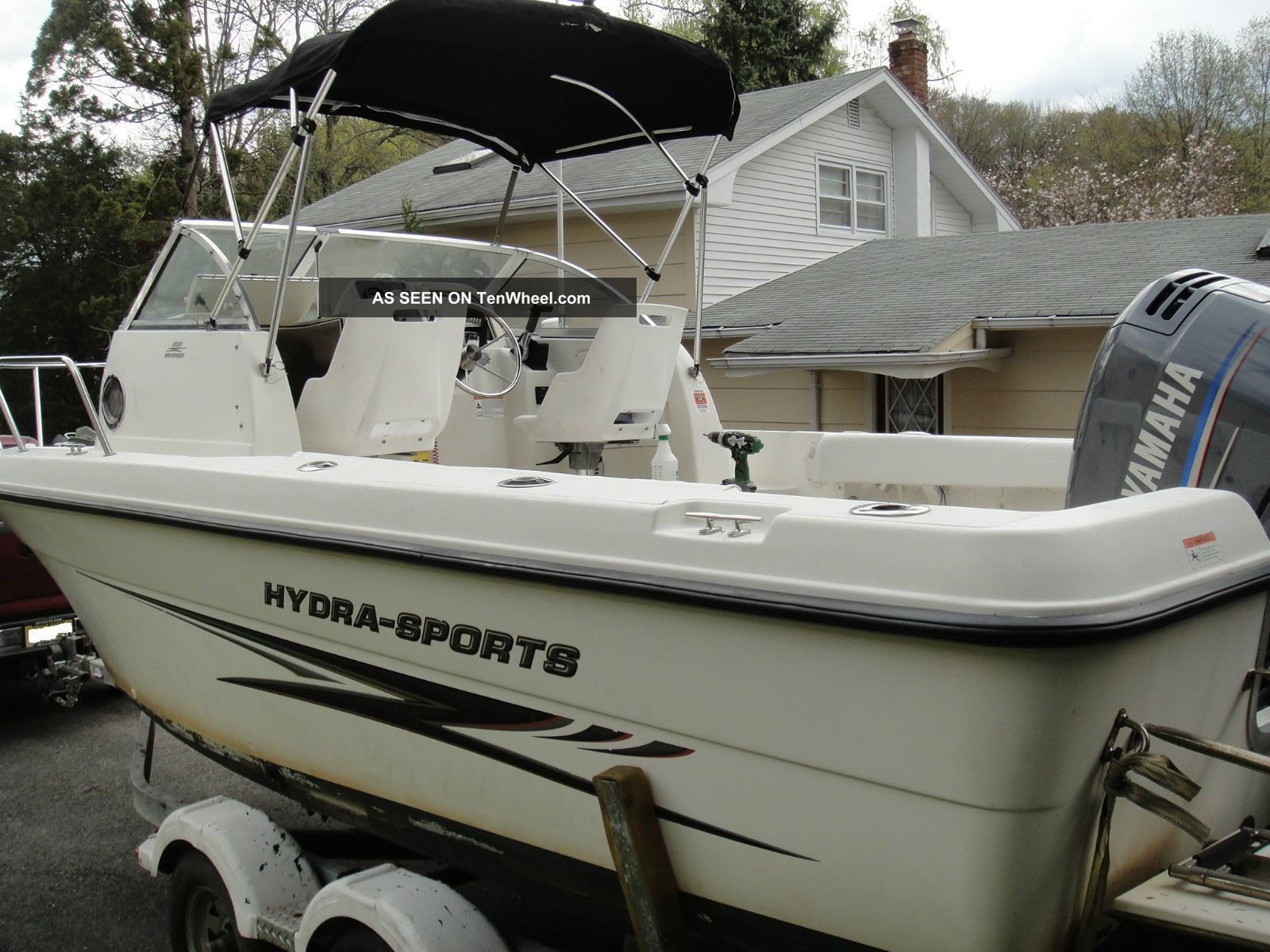2003 Hydra - Sports 212wa Offshore Saltwater Fishing photo