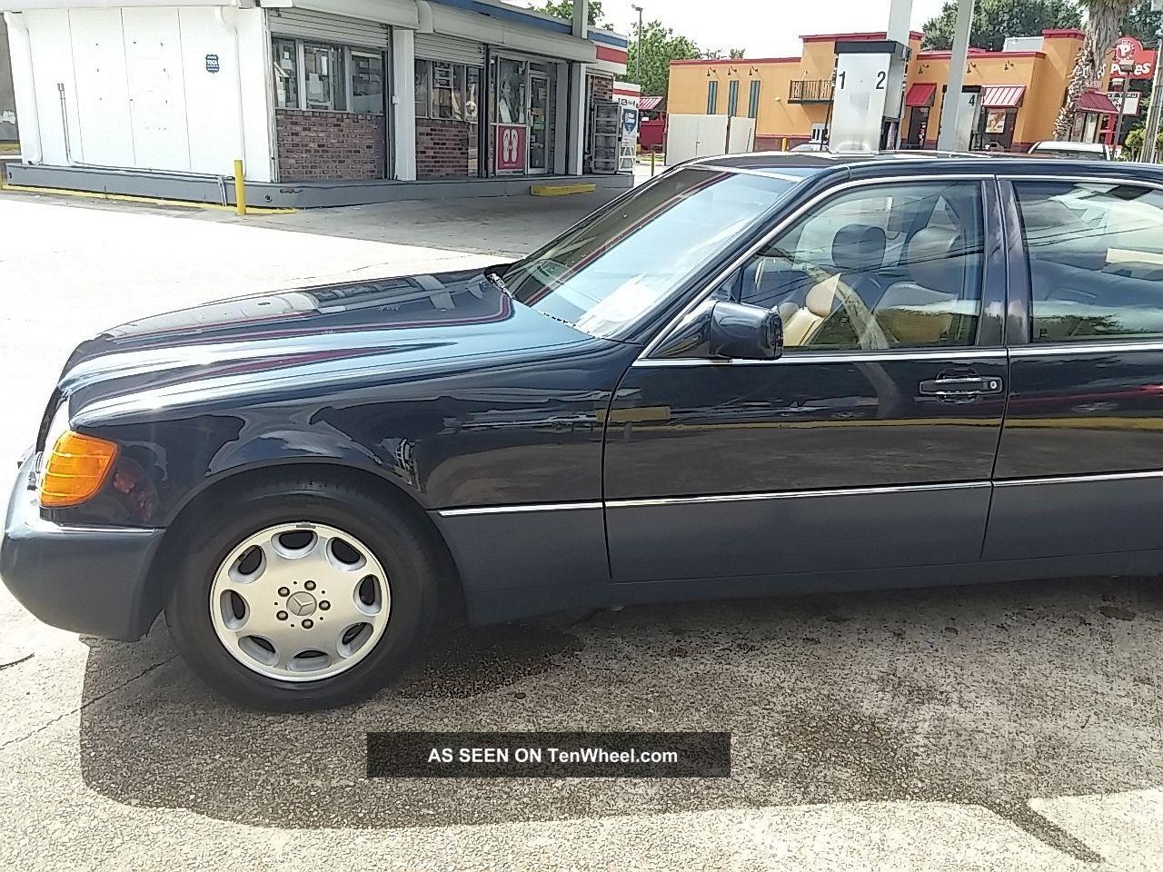 1994 mercedes benz s320 lwb sedan with mp3 jack for 1994 mercedes benz
