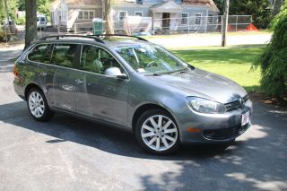 2012 Volkswagen Jetta Tdi Wagon 4 - Door 2.  0l photo