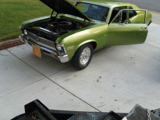 1972 Chevrolet Nova Base Coupe 2 - Door 5.  7l photo