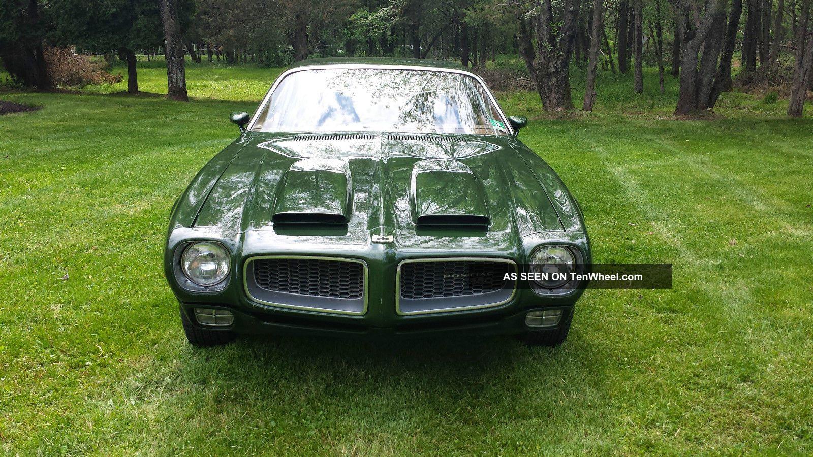 1972 Pontiac Firebird Firebird photo