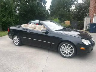 2008 Clk 350 Convertible photo