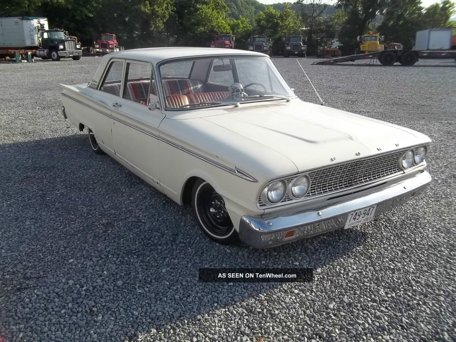 1963 Ford Fairlane Base Rat Rod Lowrider Fairlane photo