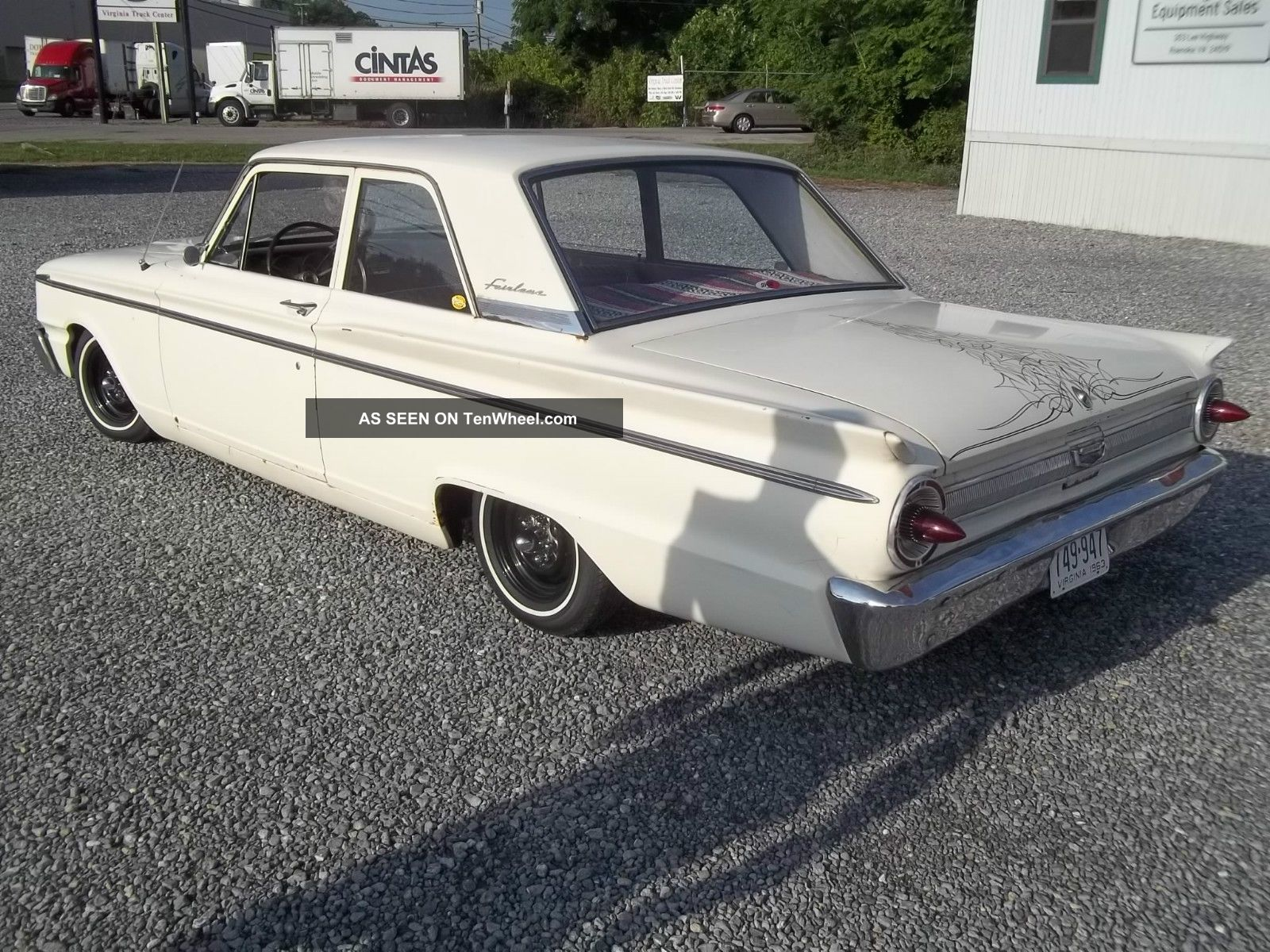 1963 Ford Fairlane Base Rat Rod Lowrider