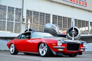 1972 Chevrolet Camaro Ss 350 Restomod photo