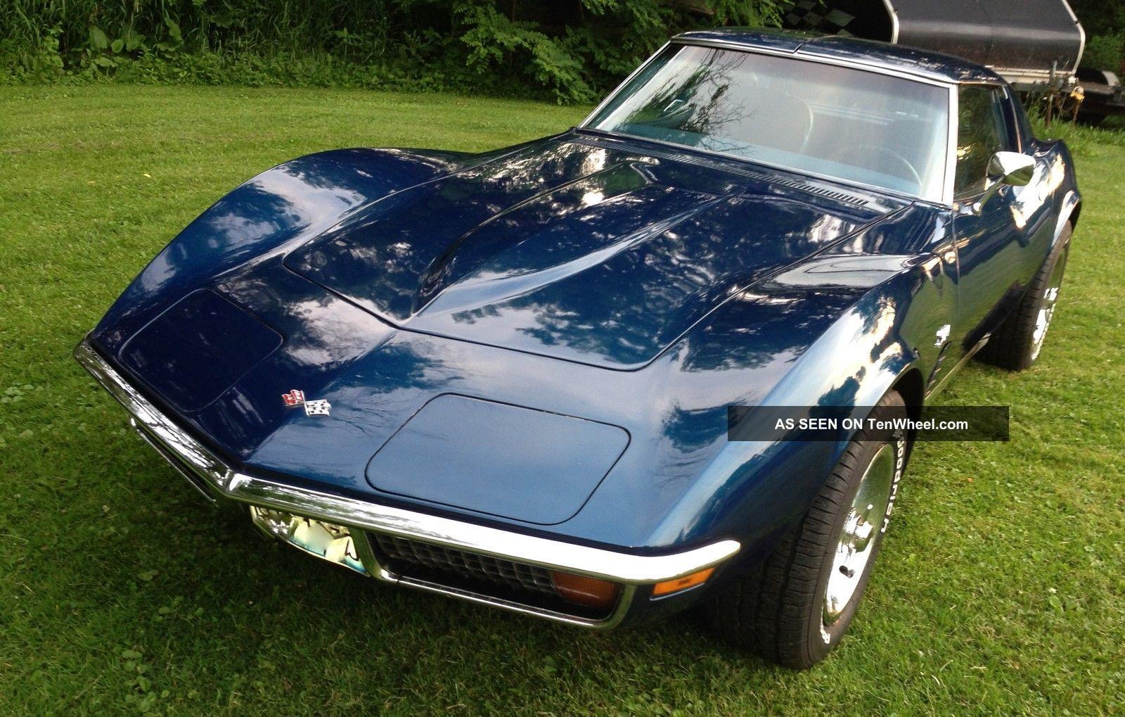 Corvette 1972 4 Sp Coupe 350 Matching Orig Car & Paint Corvette photo