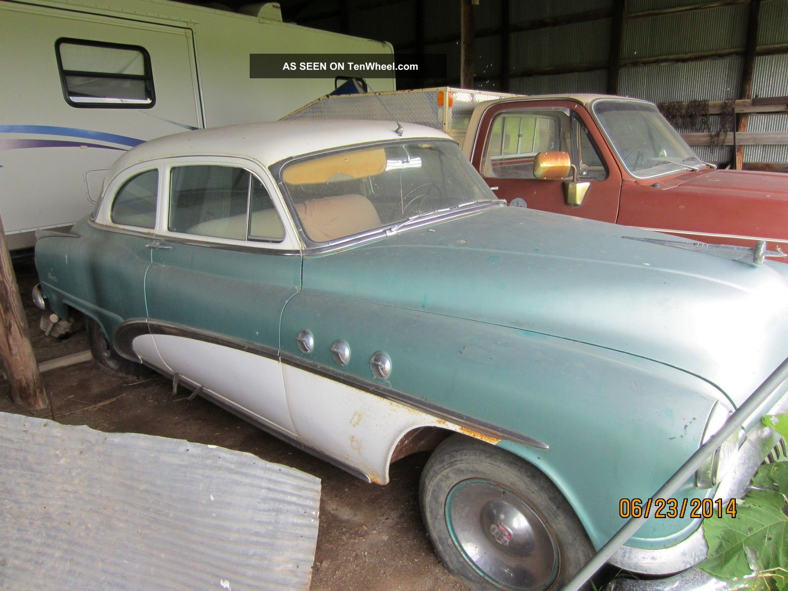 1952 Buick Special Decent Shape Project Car Other photo