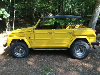 Rare Unique 1974 Vw Volkswagen Thing 181 Yellow Solid Extras photo
