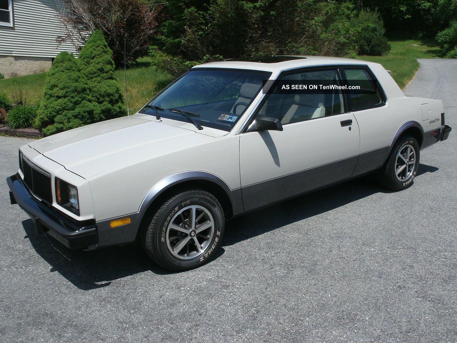 1983 Buick Skylark T - Type Skylark photo