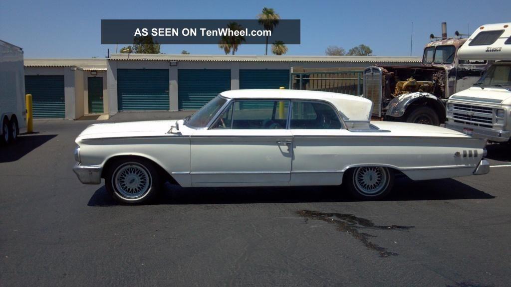 1963 Mercury Monterey S55 Sport Coupe Low Build Serial Number Rare Ca.  Car Monterey photo