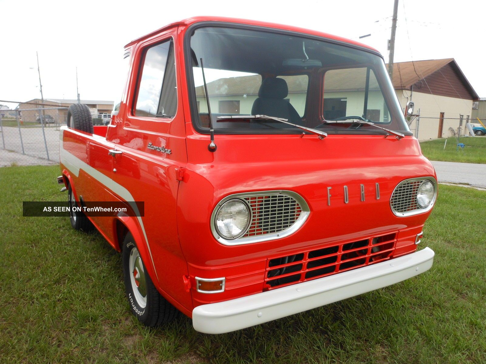 1966 Ford Econoline Pick Up Truck Collector,  Orange Other Pickups photo