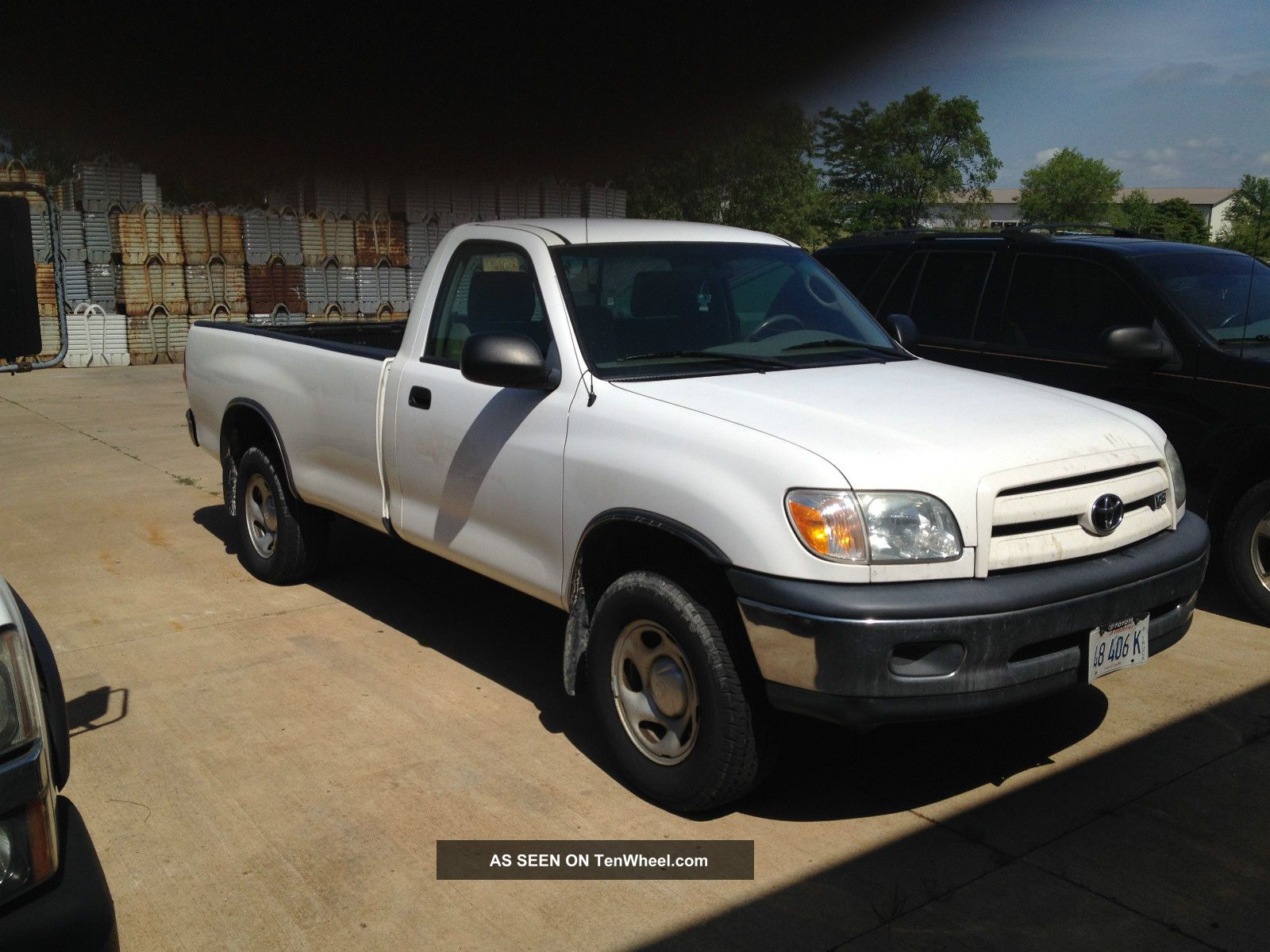2005 Toyota Tundra Base Standard Cab Pickup 2 - Door 4.  0l Tundra photo