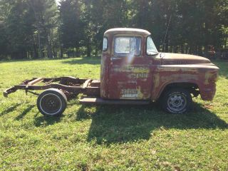 1958 Dodge Truck Base 4.  1l photo