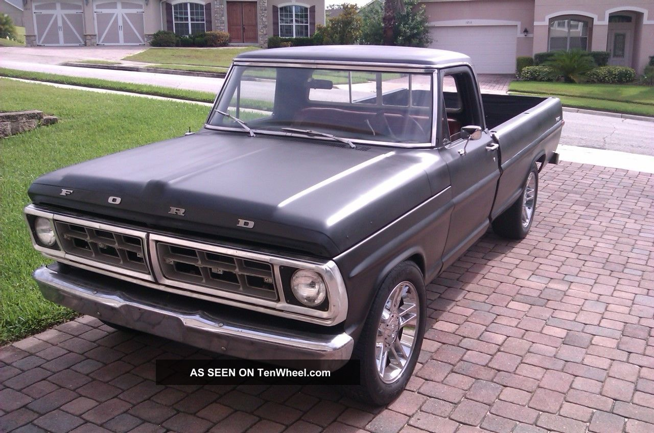 1972 Ford F100 Ranger F-100 photo