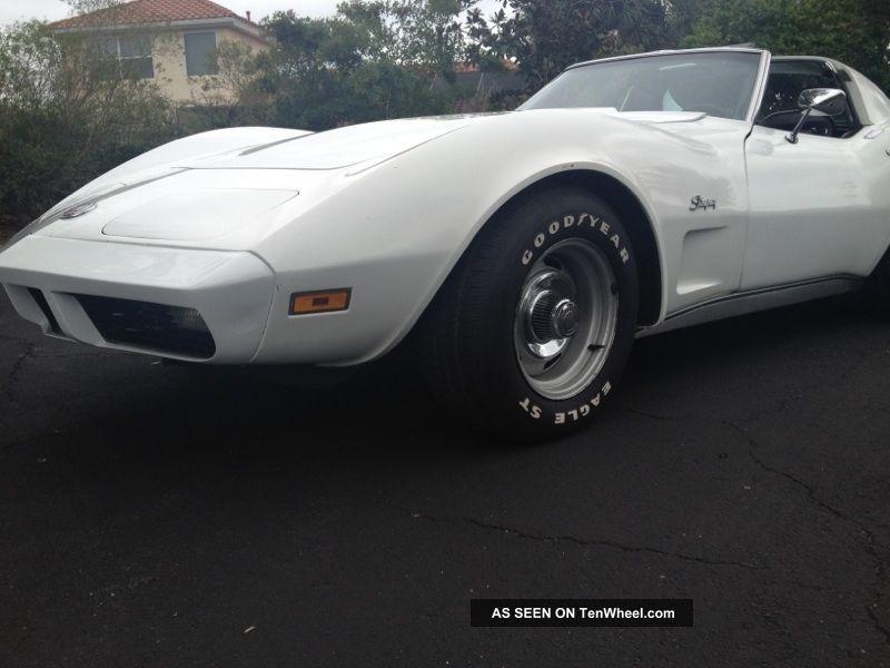 1973 Corvette Coupe Survivor L82 4 Speed With A / C Corvette photo