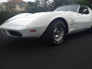 1973 Corvette Coupe Survivor L82 4 Speed With A / C photo
