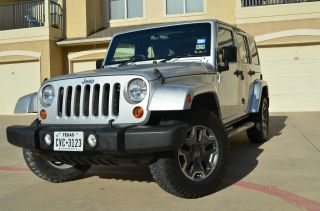 2010 Jeep Wrangler Unlimited Sport Rhd Utility 4 - Door 3.  8l - Right Hand Drive photo