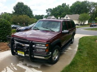 Soprano Tribute 1999 Chevrolet K1500 Suburban Lt Sport Utility 4 - Door 5.  7l photo