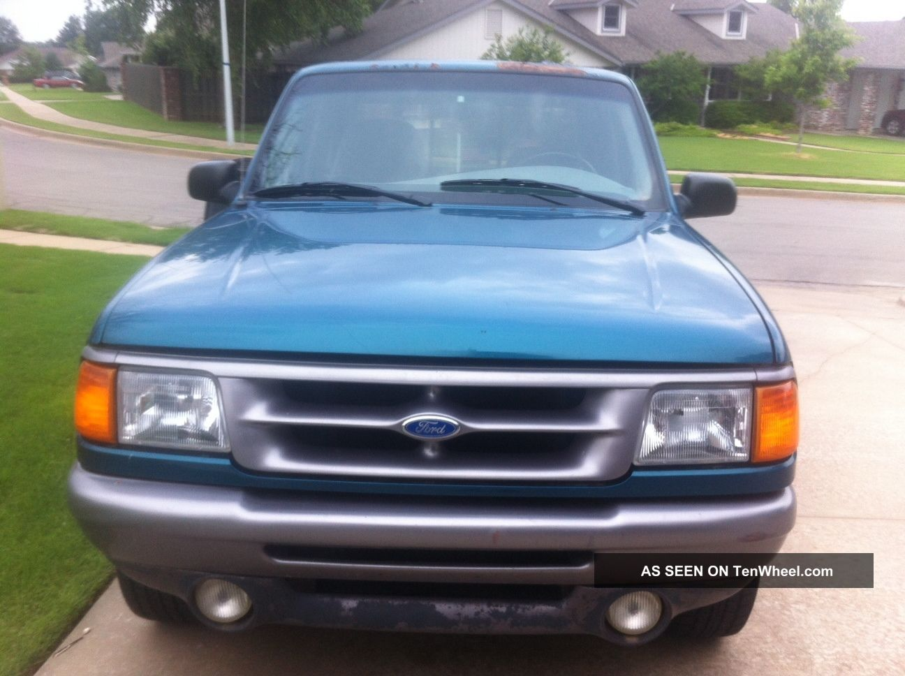 1997 Ford Ranger Stx Extended Cab Pickup 2 - Door 3.  0l V6 4x4 Ranger photo
