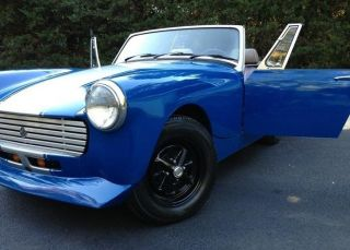 1978 Mg Midget. .  Wont See One Like This On The Road photo