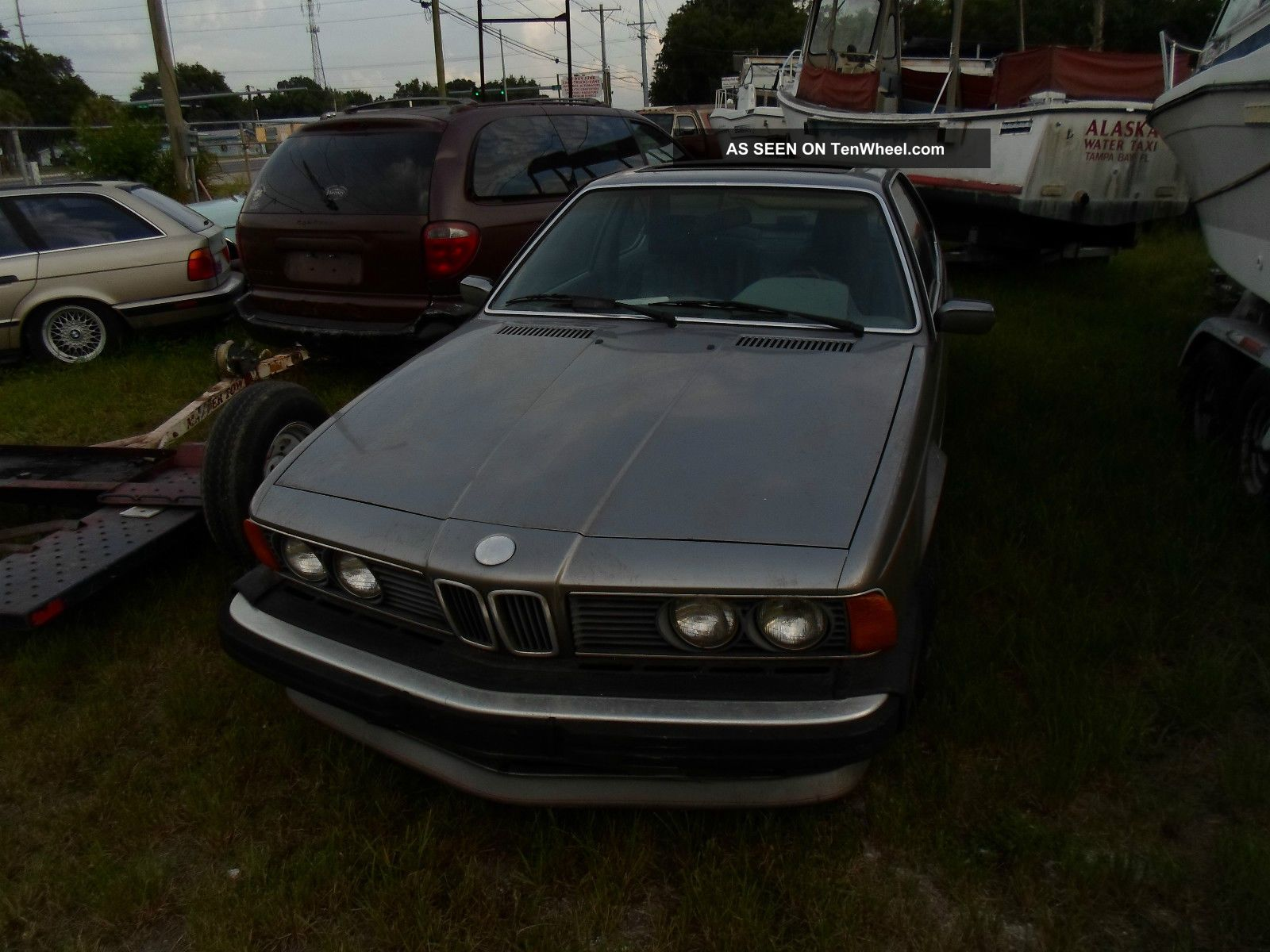 Bmw 1987 635 Manuel 6-Series photo