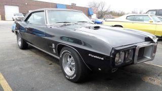 1969 Pontiac Firebird Black On Black Big Block 5 Speed - Pro Touring - Paint photo