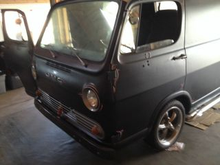 1964 Gmc Handy Van,  Chevy G10,  Bagged Low And Slow Ready To Go Lowrider Surfer photo