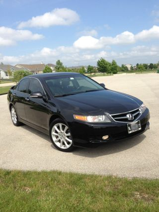 2006 Acura Tsx 6mt Sedan 4 - Door 2.  4l - Ext Available photo