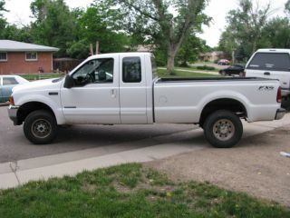 2001 Ford F - 250 Duty Xlt Extended Cab Pickup 4 - Door 7.  3l photo