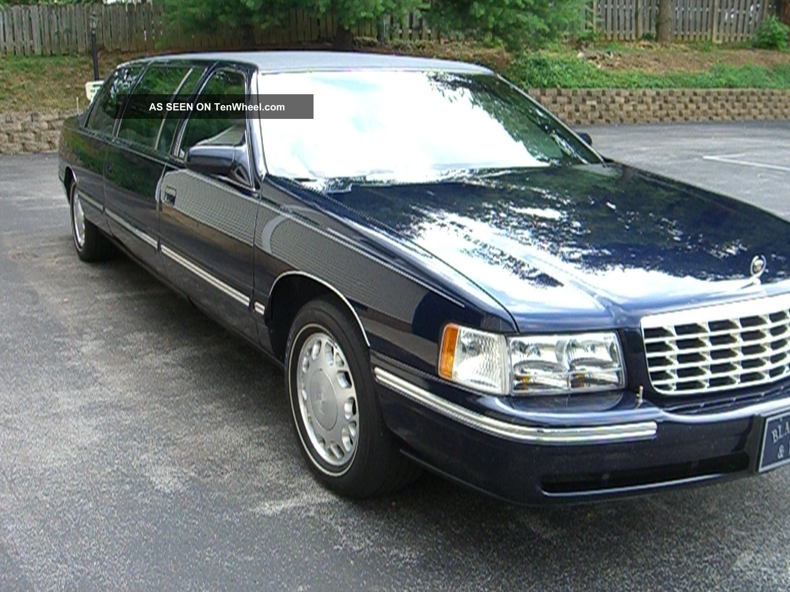 1999 Cadillac Six - Door Funeral Limousine By S&s DeVille photo