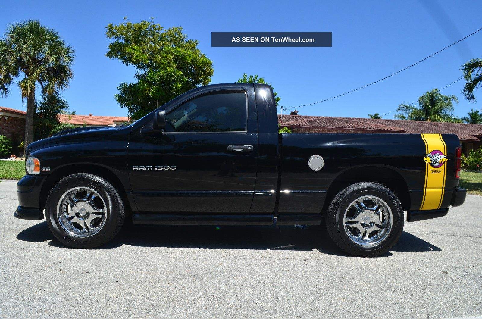 2004 Dodge Ram 1500 Rumble Bee Hemi Car Fax Florida Truck Ram 1500 photo