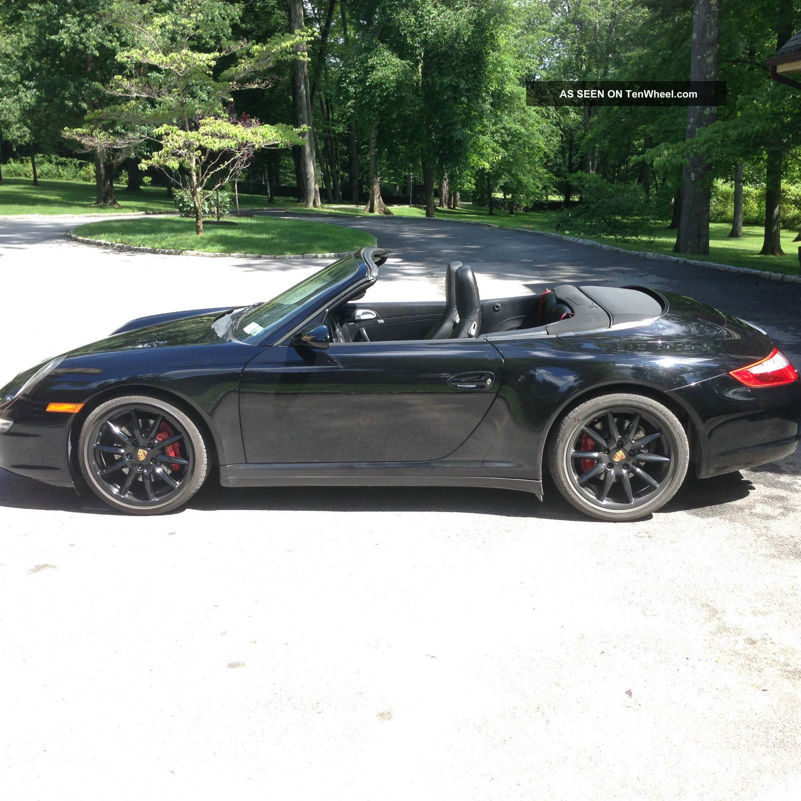 2007 porsche 911 carrera 4s cabriolet. Black Bedroom Furniture Sets. Home Design Ideas