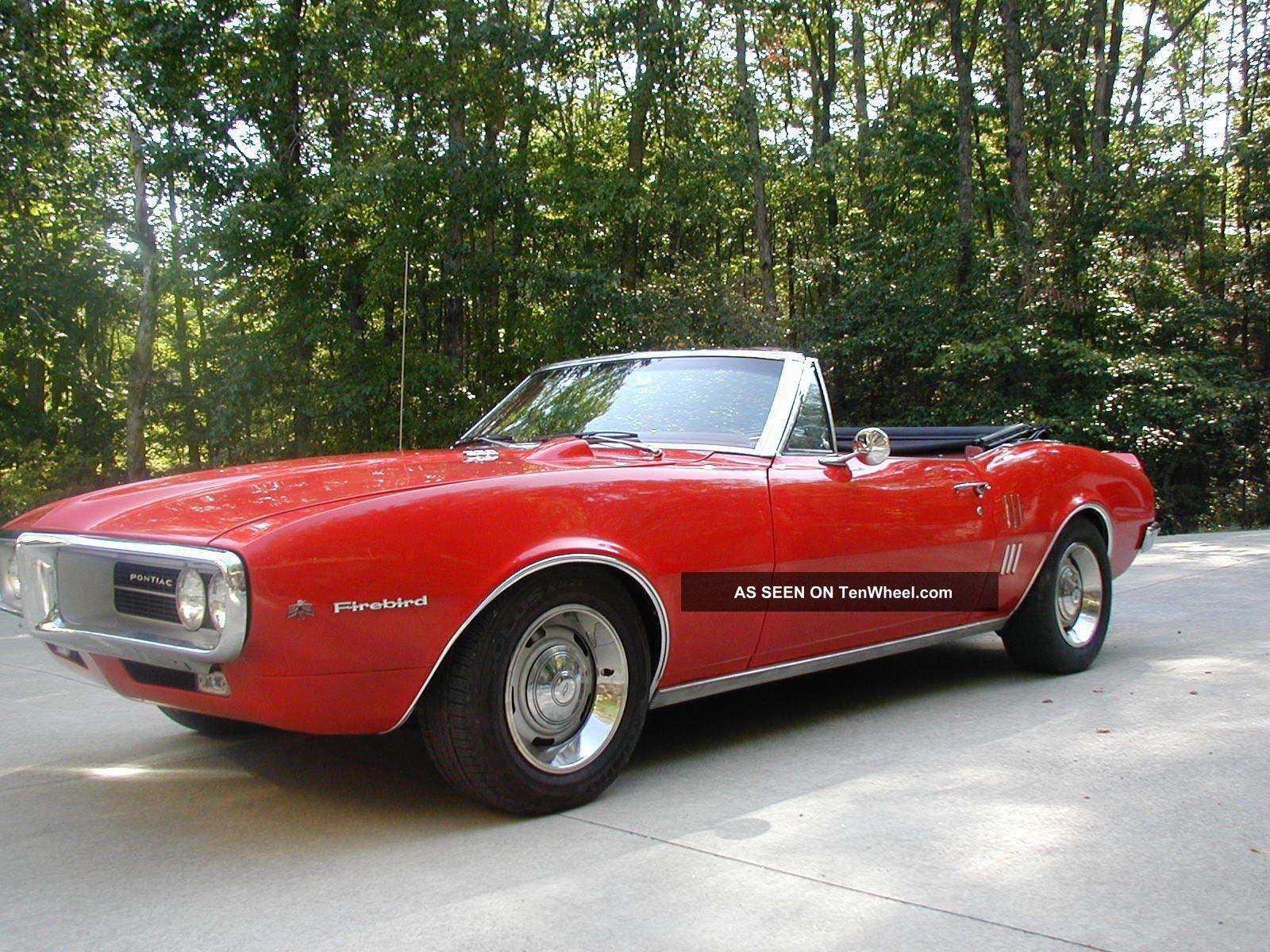 1967 Pontiac Firebird Convertible Not Camaro Firebird photo