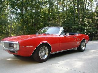 1967 Pontiac Firebird Convertible Not Camaro photo