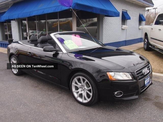 2011 Audi A5 2.  0t Quattro Premium Awd 2dr.  Convertable A5 photo
