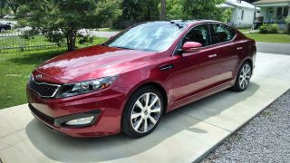 2013 Kia Optima Sx - T Sedan 4 - Door 2.  0l - - photo