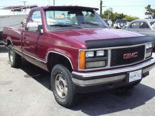 1988 Gmc Sierra Sle 4x4 Good Work Truck Chevy / Chevrolet photo