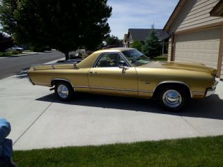 1970 Chevrolet El Camino Base Standard Cab Pickup 2 - Door 5.  7l photo