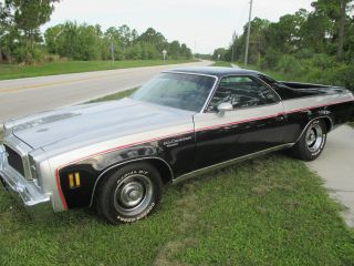 1976 Chevrolet El Camino Base Standard Cab Pickup 2 - Door 5.  7l photo