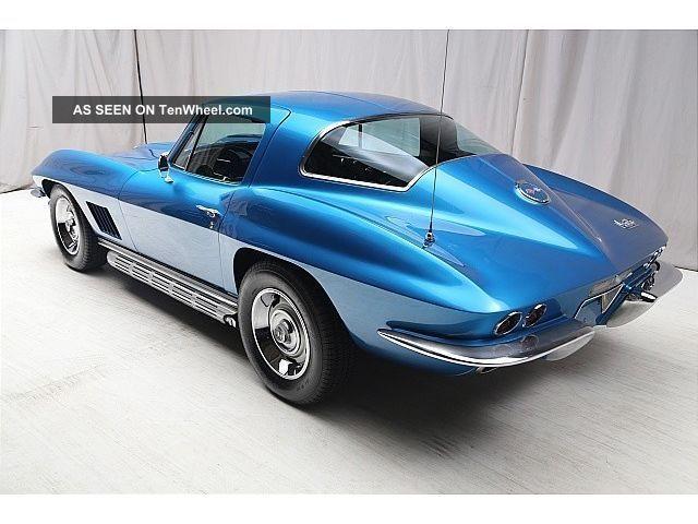 1967 Chevrolet Corvette Stingray - - 327 350hp 4 Speed