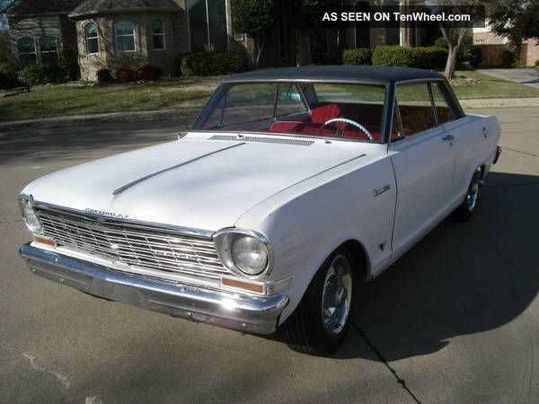 1964 Chevy Ii Nova (real) Ss,  Matching 283 V8 With Borg Warner T10 4 - Speed Nova photo