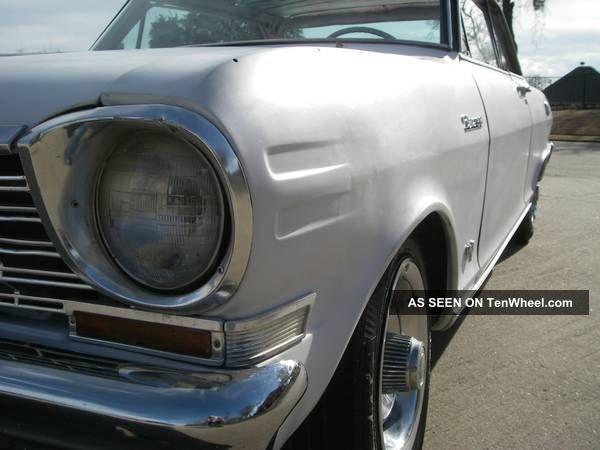 1964 Chevy Ii Nova (real) Ss, Matching 283 V8 With Borg