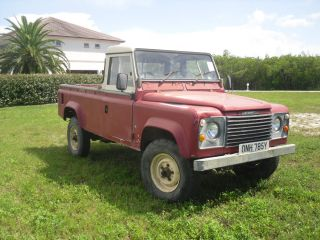 1983 Defender Pickup 110 photo