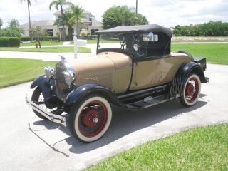 1928 Ford Model A Roadster photo