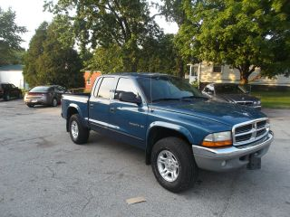 2002 Dodge Dakota Slt Crew Cab Pickup 4 - Door 4.  7l photo